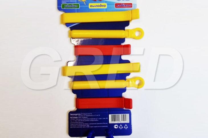 Зажимы для пакетов — набор 6 штук (RE-606)
