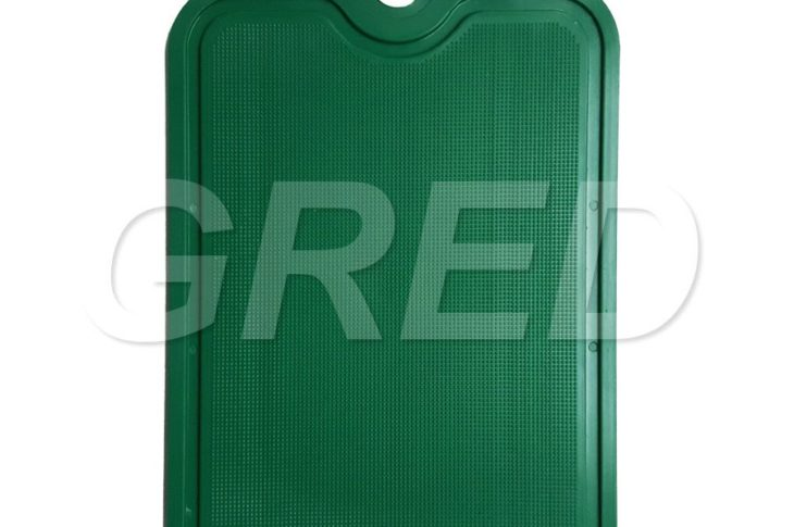 Доска разделочная — зеленого цвета (24 см х 15,5 см)