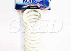 Кольца для штор на карниз пластиковые, набор 10 шт