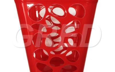 Корзинка пластиковая, h=22см