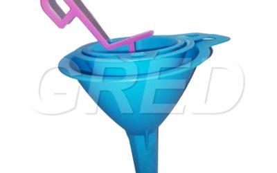 Набор воронок пластиковых — 3 шт