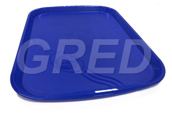 Поднос пластиковый прямоугольный — 47*35*3 см, RE — 586