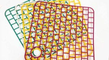 Решетка для раковины — квадратная 32 х 32 см