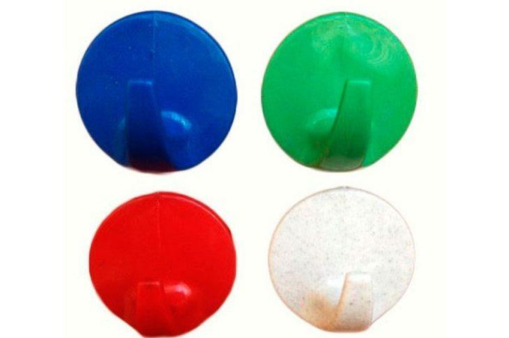 Набор маленьких самоклеящихся крючков — «Круглый», 50 шт