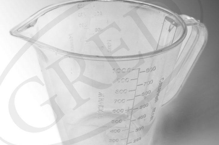 Кружка мерная, 1 литр, RE — 264