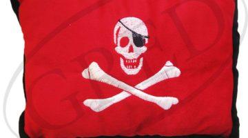 Подушка в автомобиль с логотипом — «Пират»