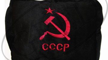 Подушка с логотипом в машину — «СССР»