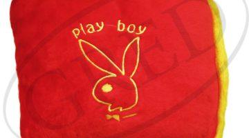 Подушка с логотипом в авто — «Playboy»