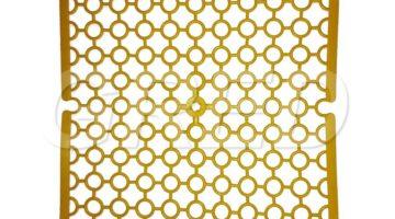 Решетка для раковины — квадратная 30 х 30 см