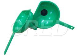 Большая воронка с фильтром, зеленая