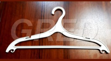 Плечики для одежды — Вешалка ВПЛ-15 белая, 42 см